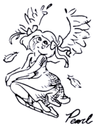 Aquamarine Drawing Pearl