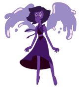 Lapis Lazuli Palette While In Her War Flashback Before Being Poofed