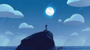 Lighthouse and Moon BG
