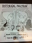 Historical Friction promo by Jesse Zuke