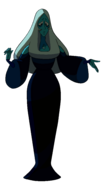 Blue Diamond Palette When Backlit While Entering Yellow's Bubble Room