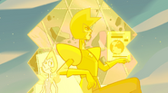 Message Received Color Key Yellow Diamond and Pearl