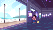SU - Arcade Mania Steven Smiling And Sweeping