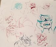 Jasper sketches by Danny Cragg