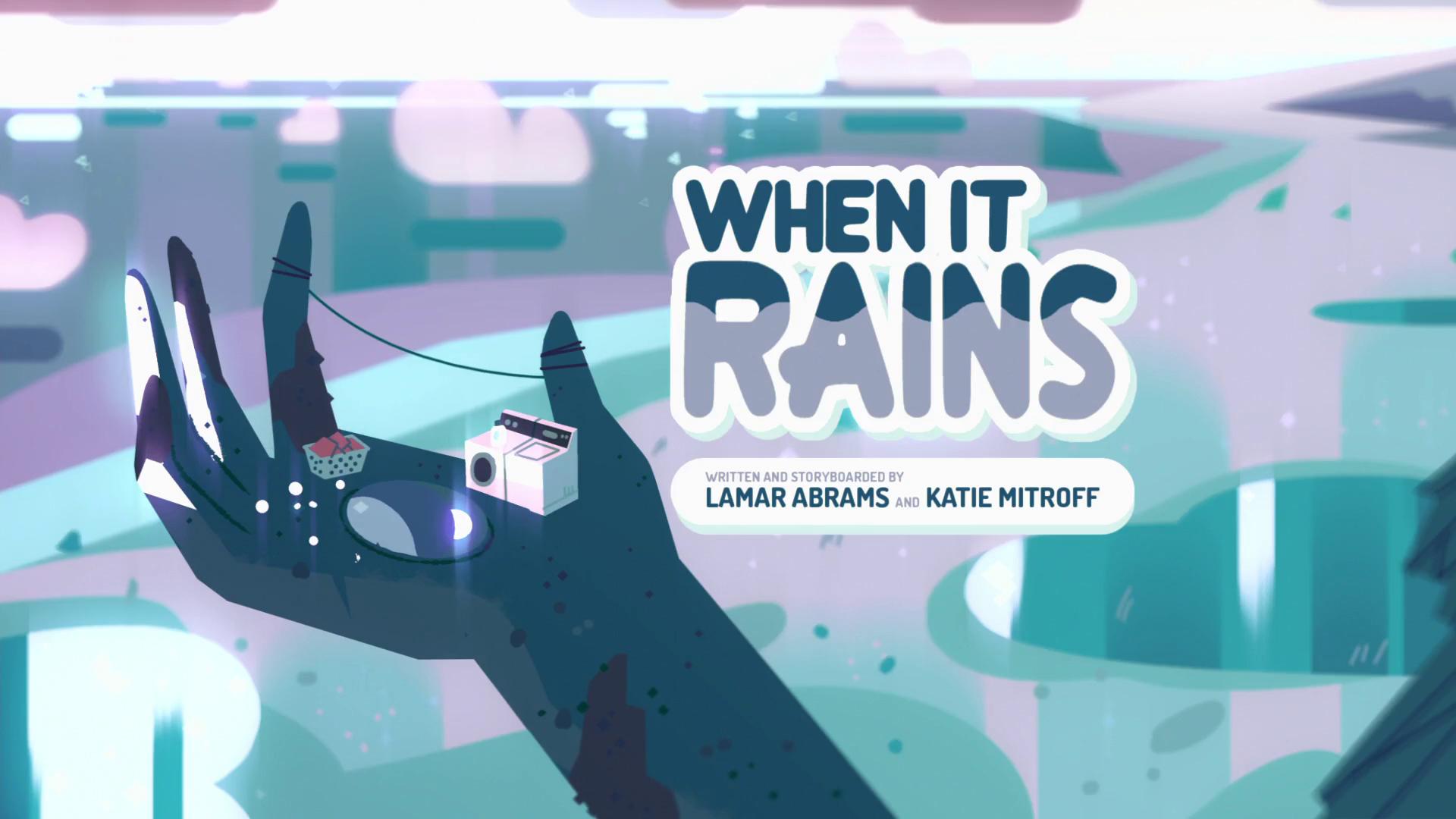 When It Rains/Gallery