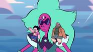 """Steven i jego """"rodzice"""""""