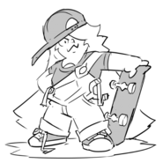 Miki B Skater Girl