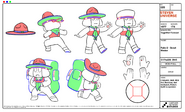 Ruby 2 - Scout Master Model Sheet
