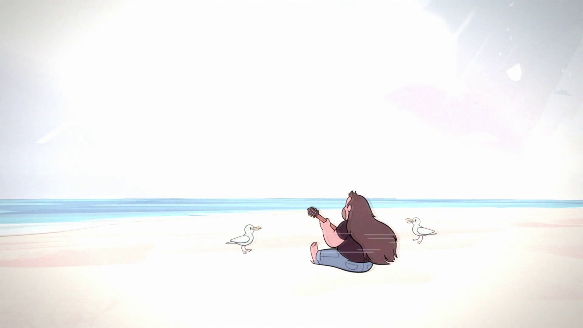 Greg on the Beach