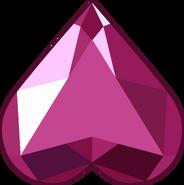 Heart Gemstone (Buttonpin) by RylerGamerDBS