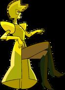 Yellow Diamond (Modelsheet Skirt 3) by RylerGamerDBS