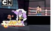 Steven Universe - Steven und Amethyst Pro Wrestlers! (EN - Tiger Philanthropist)
