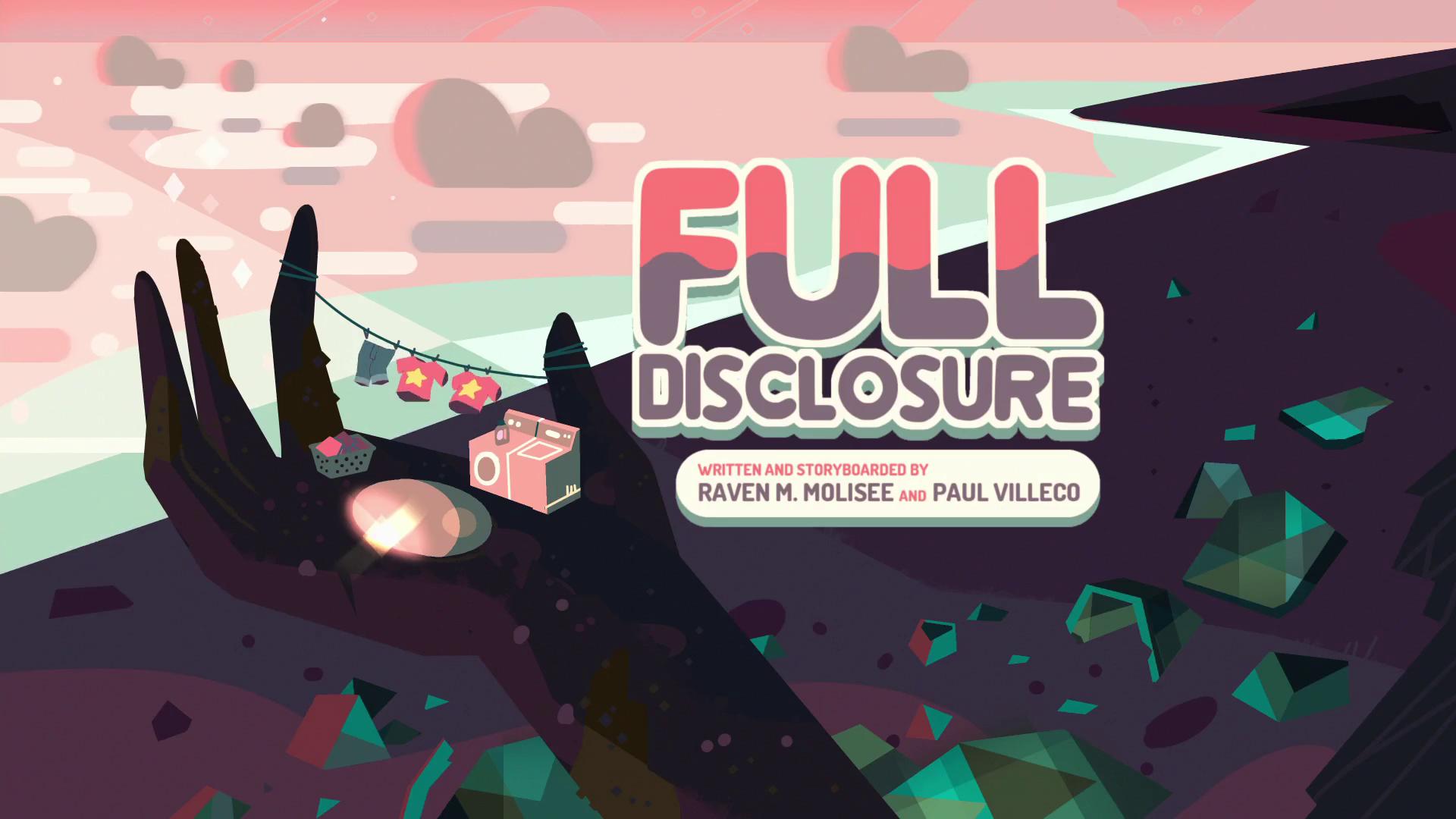 Full Disclosure/Gallery