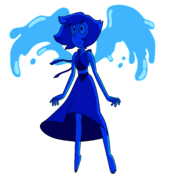 Lapis Lazuli Palette While Moonlit Before Dropping The Barn On Blue Diamond