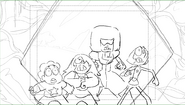 Friend Ship cleaned up storyboard by Jeff Liu