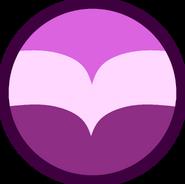 Lace Amethsyt Gem Shrinking Bubble