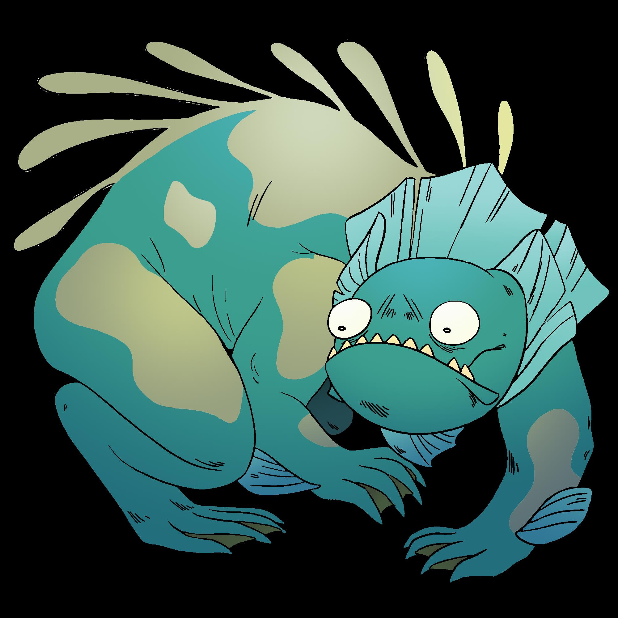 Monster Lizard Gem