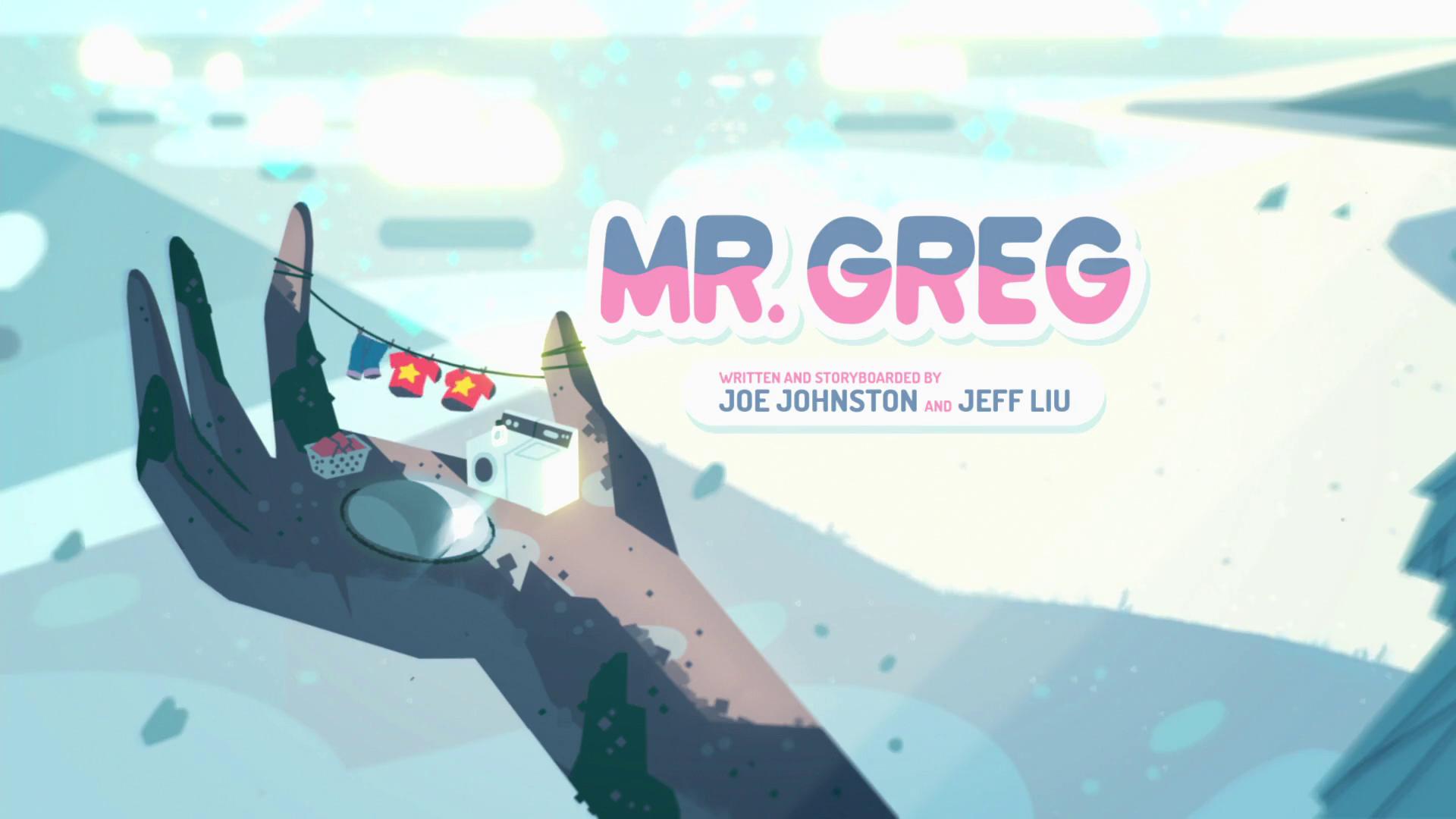 Mr. Greg/Gallery