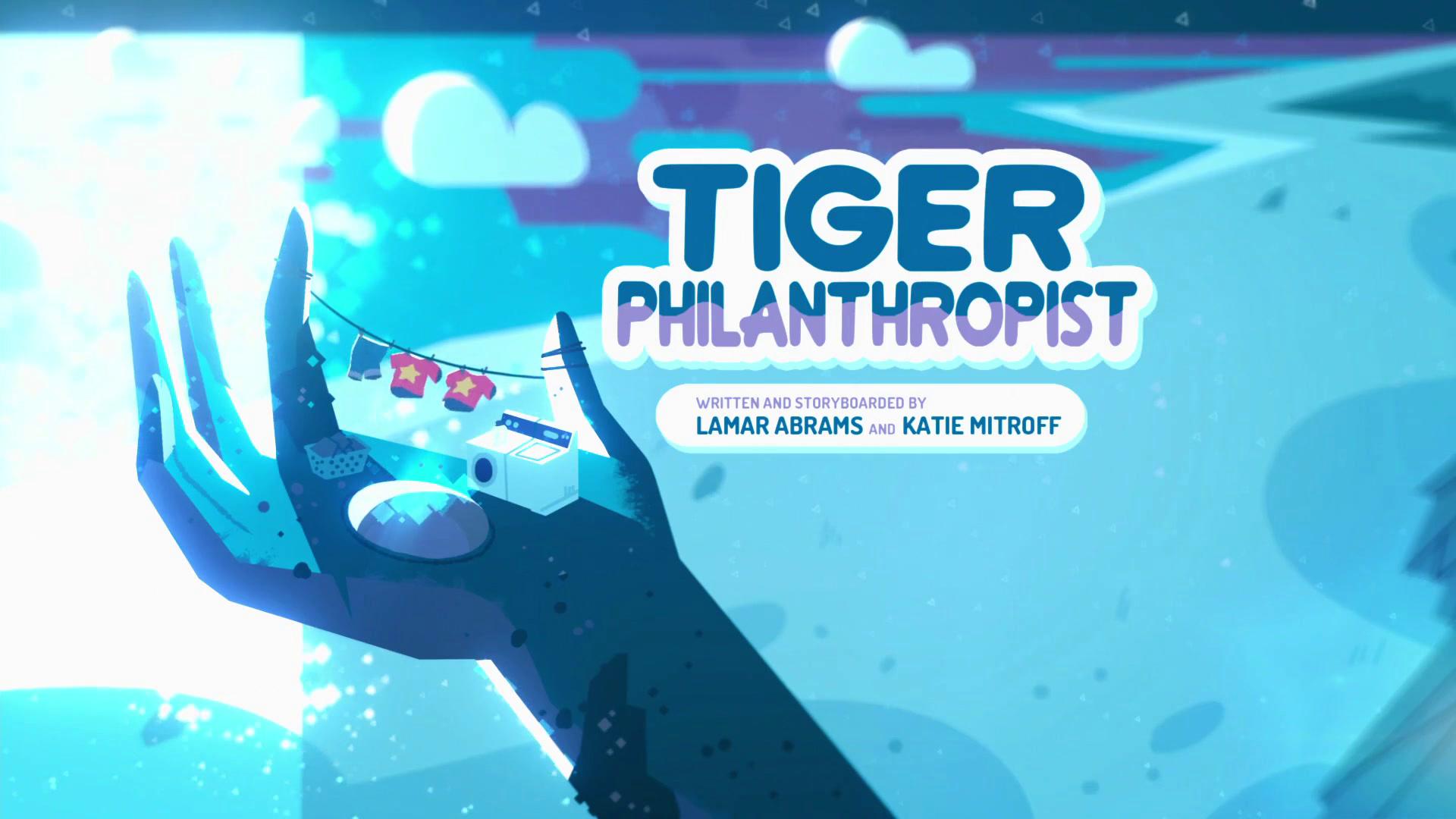 Tiger Philanthropist/Gallery