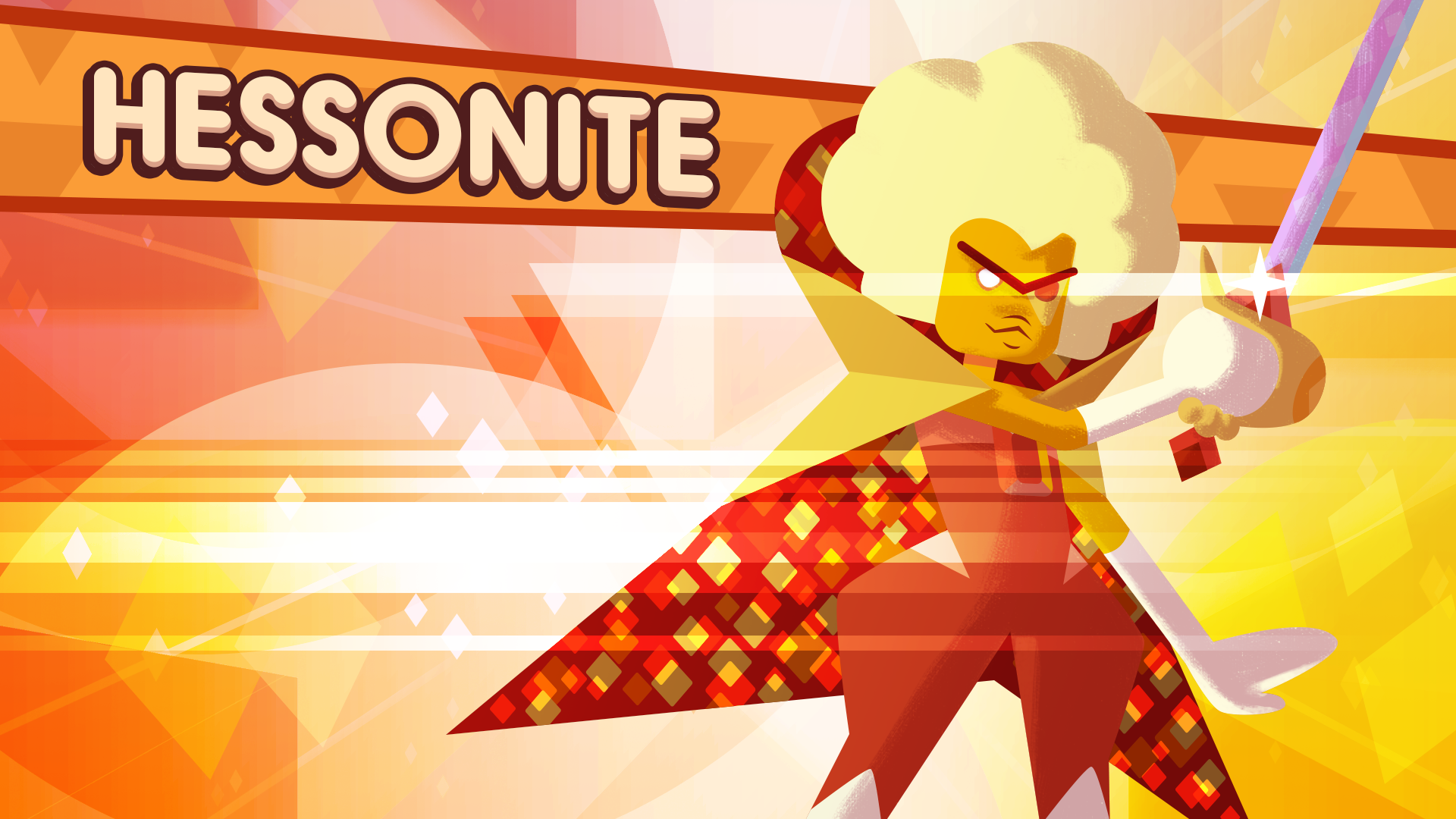 Hessonite and the Prism