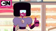 Steven Universe Garnet Gets a Job at the Big Donut Cartoon Network