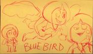 Bluebird Drawing 4
