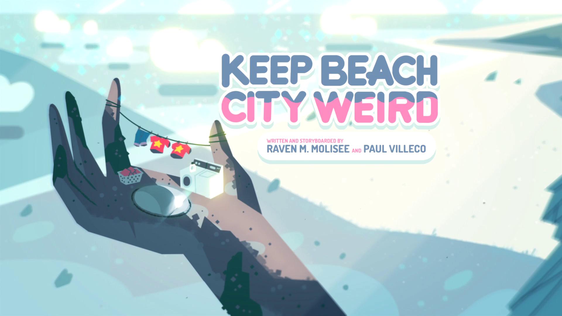 Keep Beach City Weird