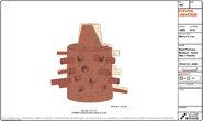 Steven's Lion Sand Fort Model Sheet