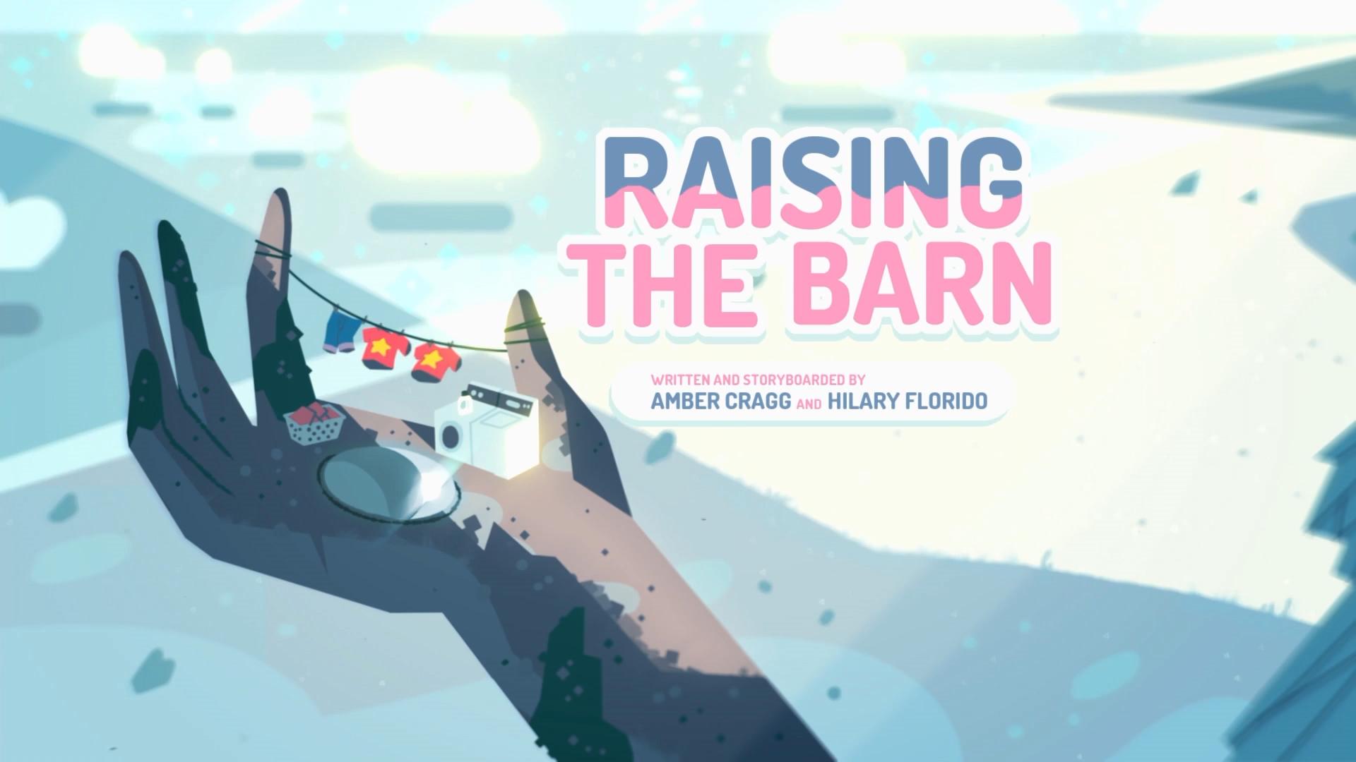 Raising the Barn/Gallery