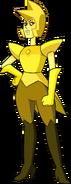 Yellow Diamond (Modelsheet Render) by RylerGamerDBS