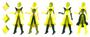 Message Received Color Key Yellow Diamond