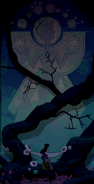 Jungle Moon Mural