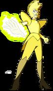 Yellow Diamond Attacking by RylerGamerDBS