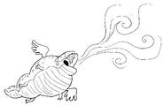 Wind Lizard Sketch by Jeff Liu 2