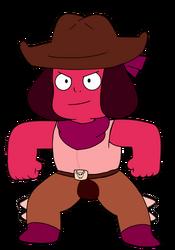 Cowboy Ruby Vector.png