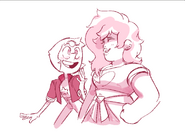 Mystery gal and a pearl