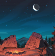 The Question Campsite BG
