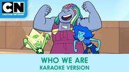 Who We Are Karaoke Version Steven Universe the Movie Cartoon Network