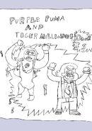 Purple Puma and Tiger Millionaire
