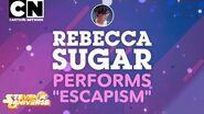 """Steven Universe FULL SONG Rebecca Sugar Debuts """"Escapism"""" Cartoon Network"""