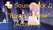 Steven Universe Soundtrack ♫ - Rose's Theme (Acoustic)