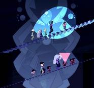 White Diamond's Part Mural