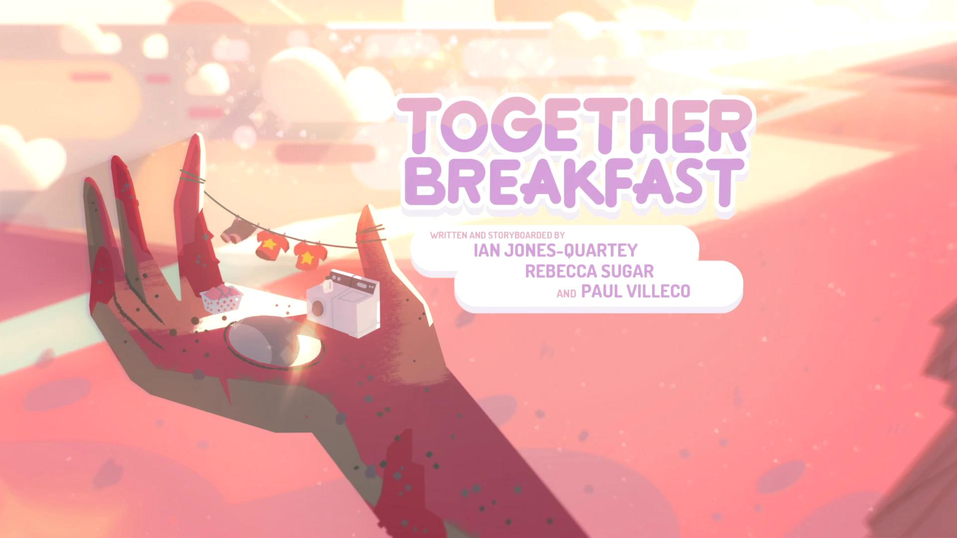 Together Breakfast (episode)/Gallery