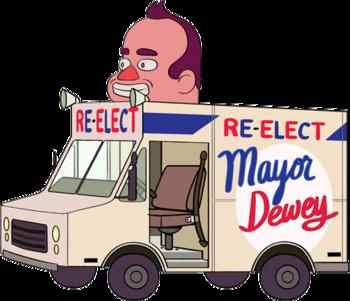 Dewey's Van