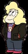 Sadie Jacket with Donut uniform