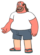 Greg (White shirt)
