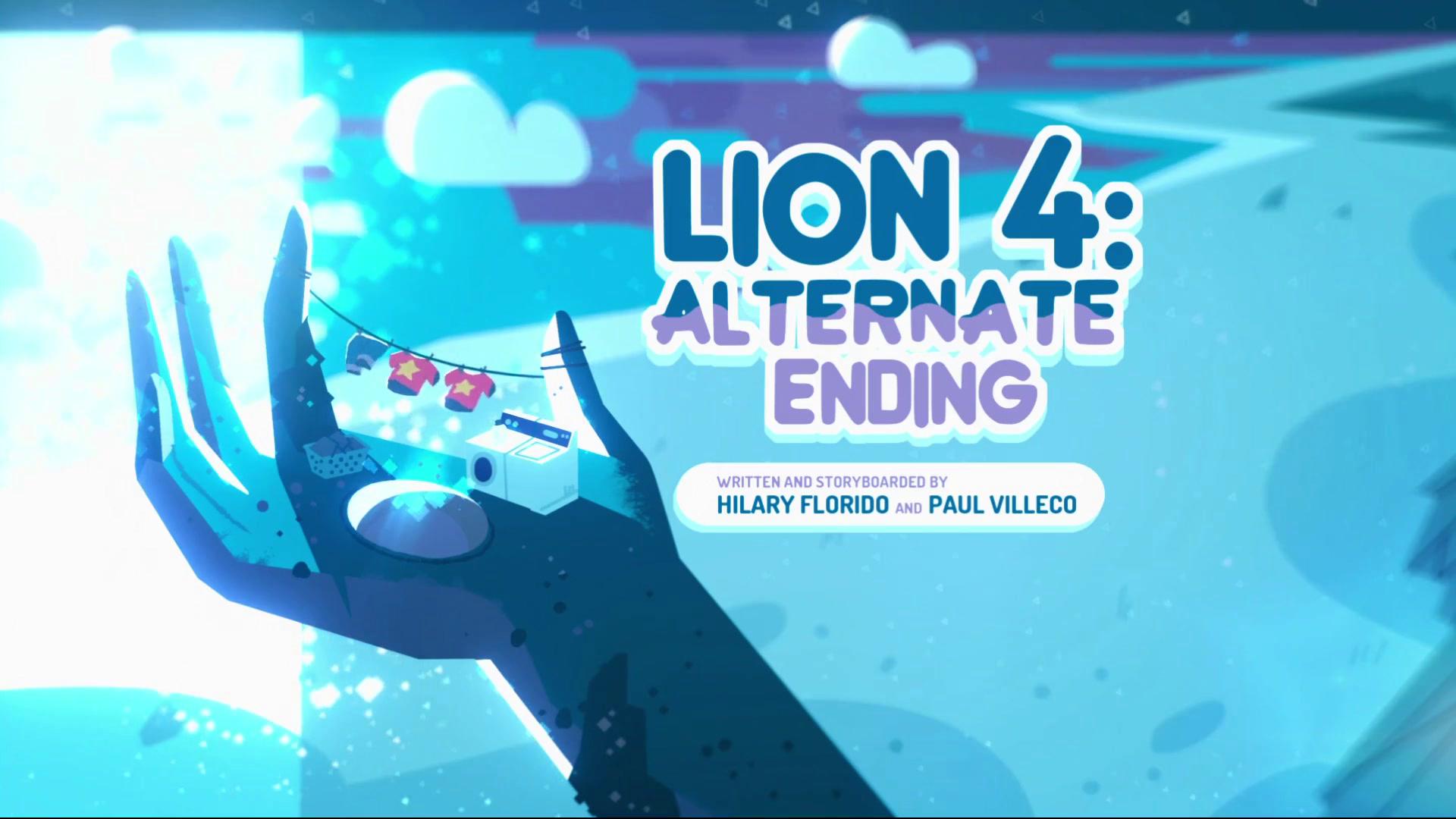 Lion 4: Alternate Ending/Gallery