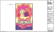 Arcade Mania Model Sheet Continue Screen