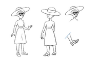 Mary character design