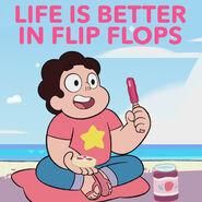 Summer of Steven Flip Flops